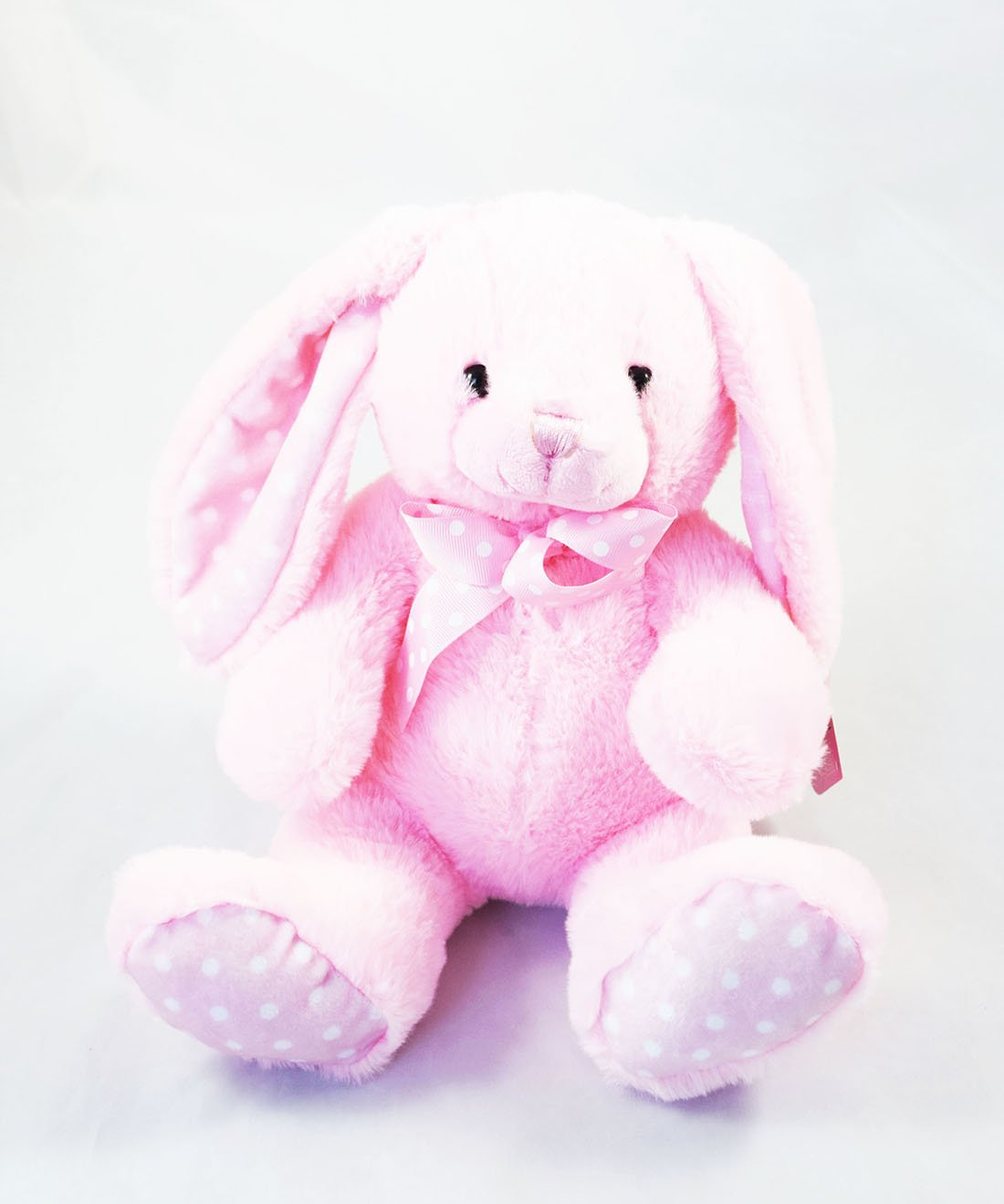 33c91f88af5 Pink Rabbit Bunny Baby Shower Newborn Cute Cuddly Soft Plush Toy Birthday  Gift  Amazon.co.uk  Toys   Games