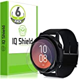IQ Shield Screen Protector Compatible with Samsung Galaxy Watch Active (Galaxy Watch Active2 40mm) (6-Pack) Anti-Bubble…