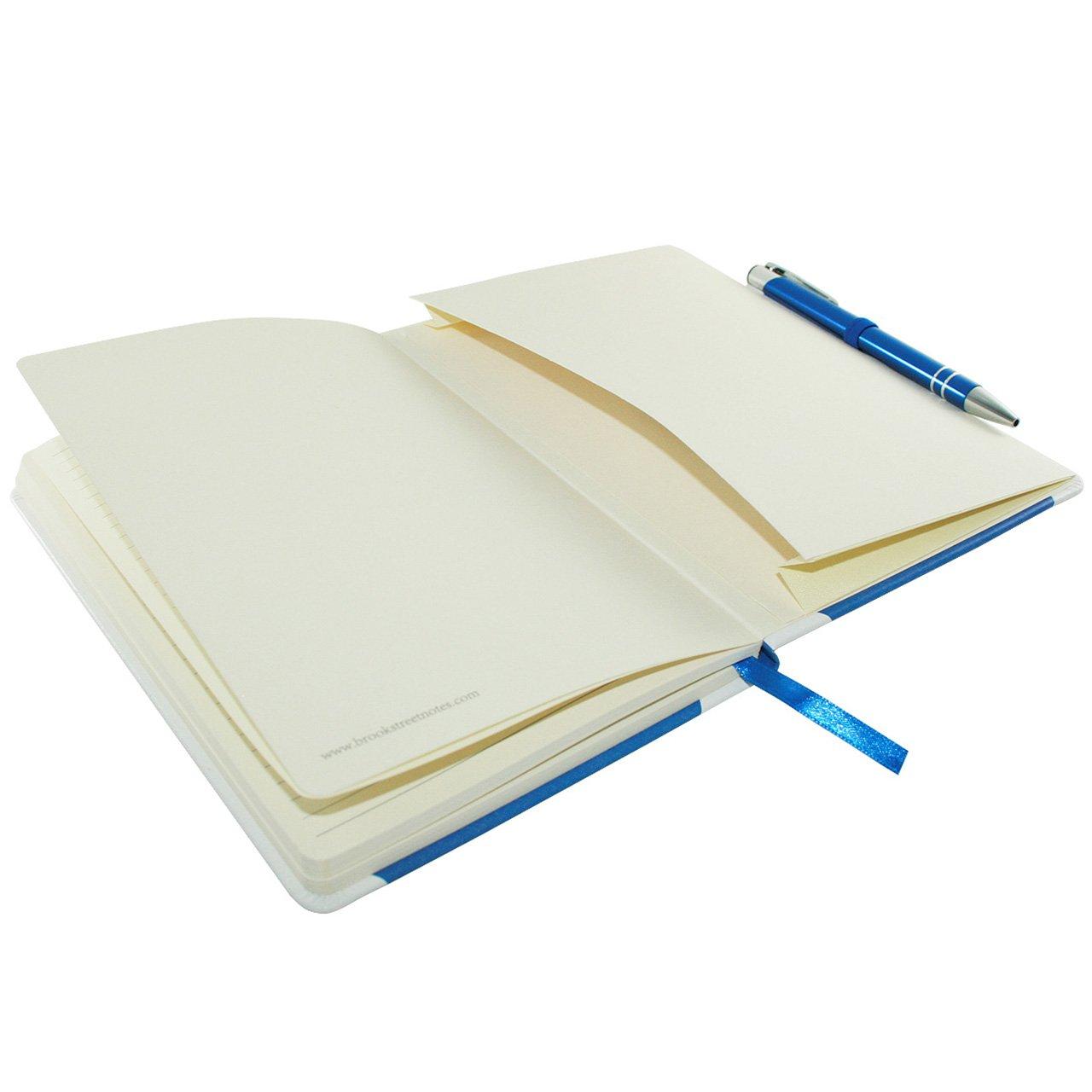 Scotland Flag Notebook Hardback A5