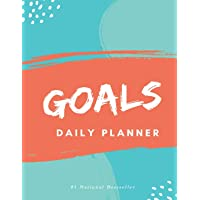 Goals Daily Planner: High Performance Time Management Undated Planner | Calendar, Gratitude & Goals Journal | Increase…