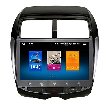 "Roverone 10.2 ""Android System Octa Core Autoradio coche reproductor de GPS para MITSUBISHI ASX"