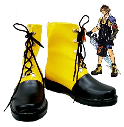 Final Fantasy 10 FF10 Tidus Cosplay Shoes Boots Custom Made 2