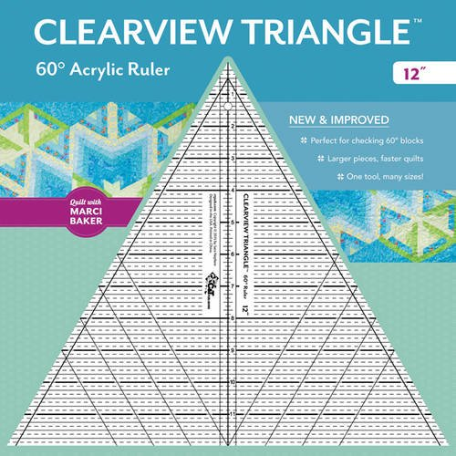Clearview TriangleTM 60° Acrylic Ruler_12