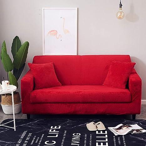 AILY Funda de sofá con Chaise Long elástica Ajustable Fundas ...