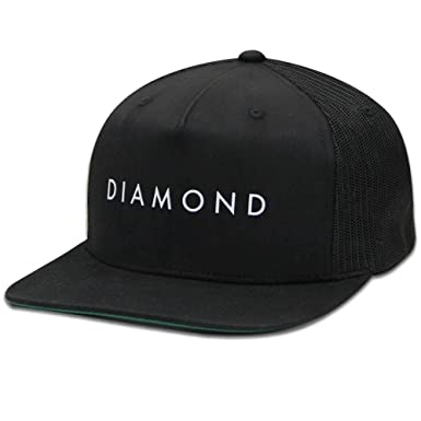 18e7d5e8625 Amazon.com  Diamond Supply Co Diamond Snapback Black  Clothing