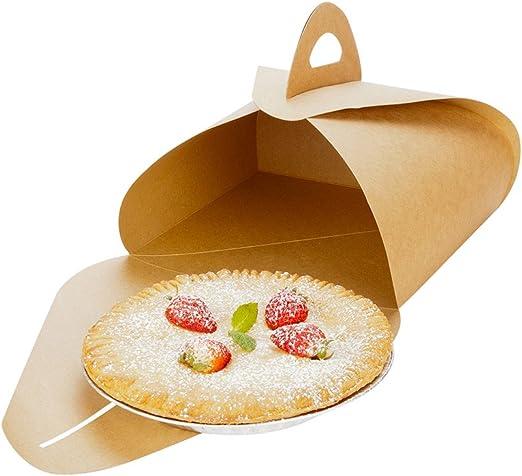White Restaurantware 100 Count Rectangle Pastry Board Box