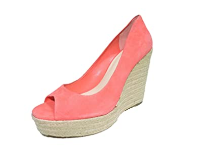 80c285769f0 Amazon.com | Vince Camuto Womens Totsi Coral Suede Wedge Platform ...