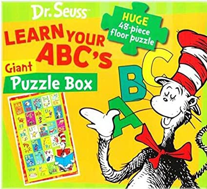 680fe240 Amazon.com: JG Press Learn Your Abc's with Cat in The Hat: Dr. Seuss ...