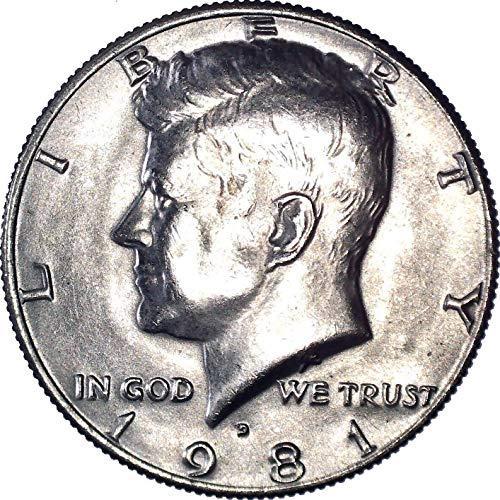 1981 D Kennedy Half Dollar 50C Brilliant Uncirculated