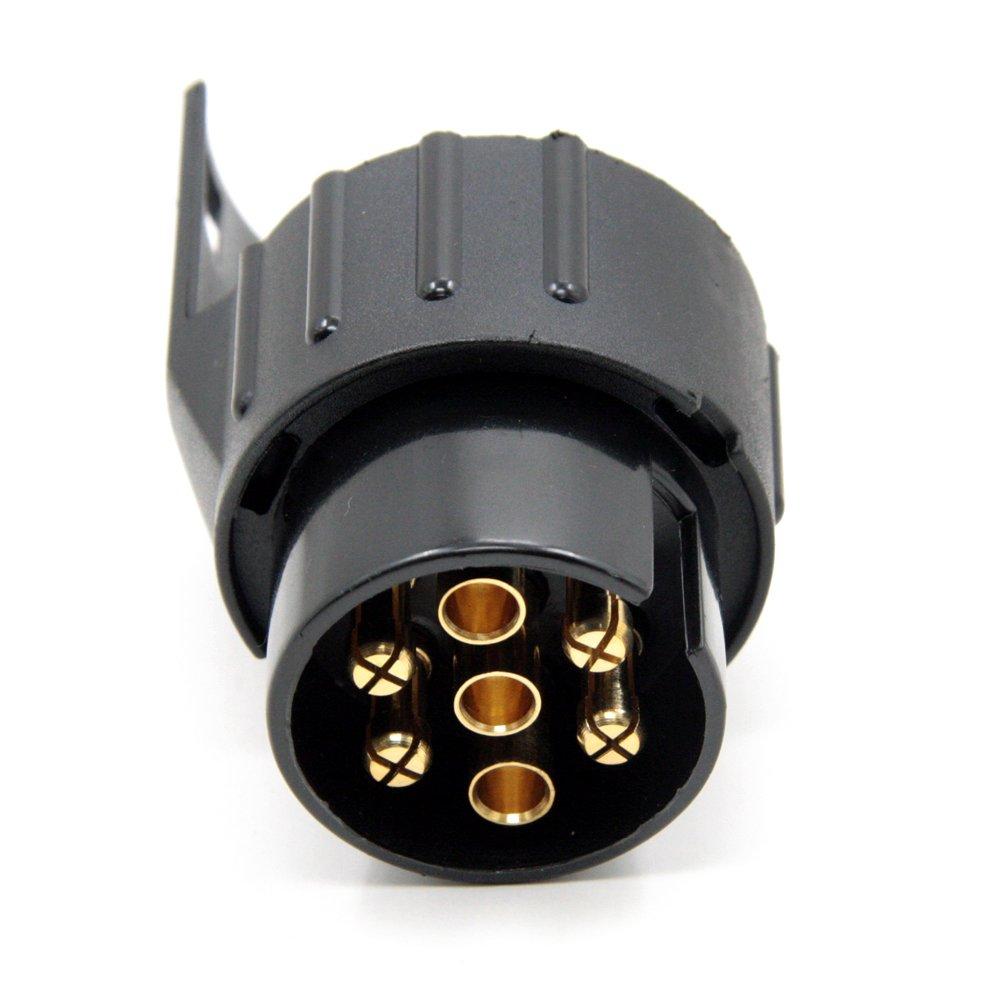 Smartspec 7 pin a 13 pin rimorchio tappo nero rimorchio leggero connettore cablaggio 12 N adattatore