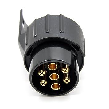 smartspec 7 Pin auf 13-polig Anhänger Stecker schwarz Trailer Licht ...