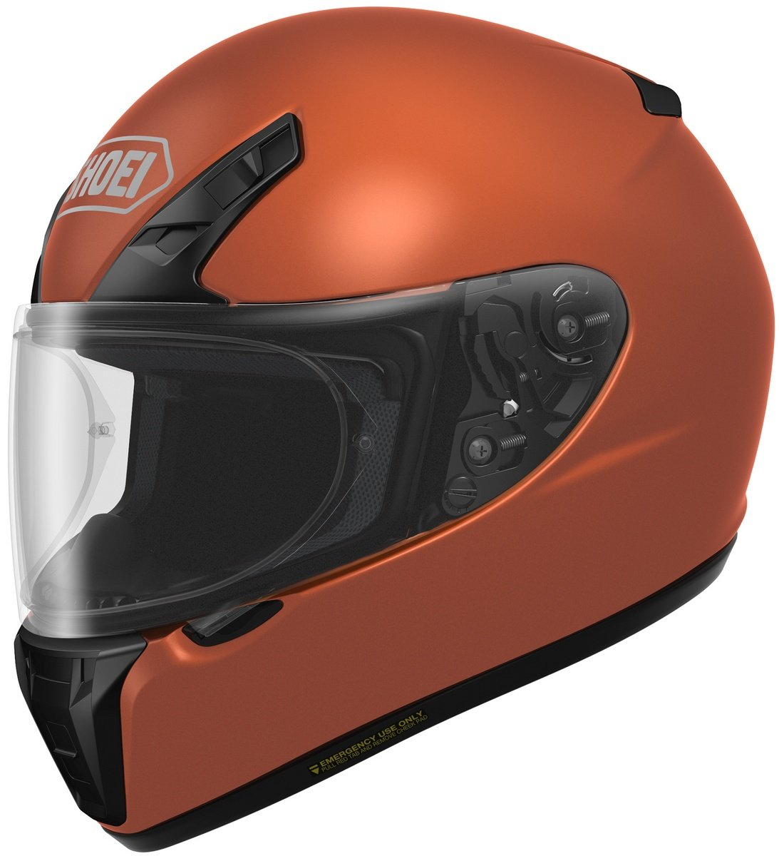Shoei RF-SR Helmet - Solid (X-Large) (Tangerine)