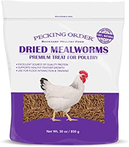 Pecking Order Dried Mealworms, 30 oz