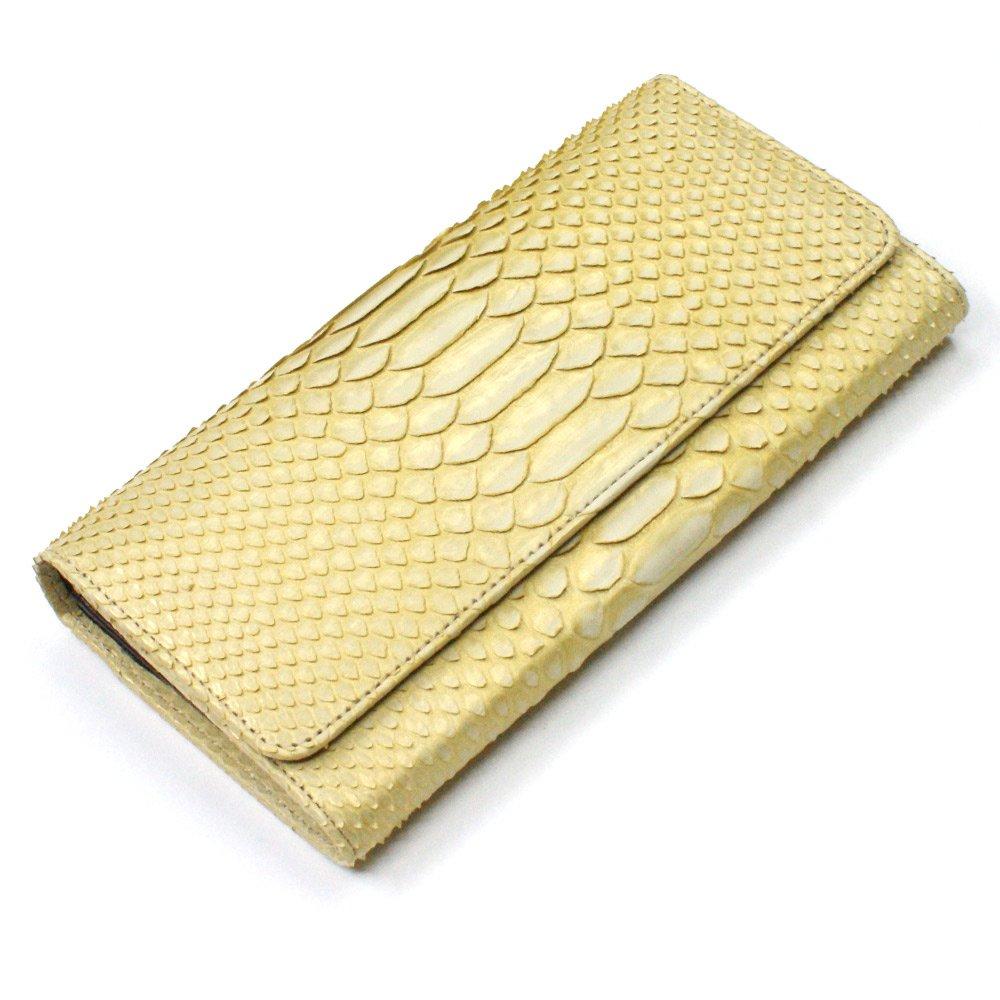 ZE1080-GOLD ゼブラ柄パイソン長財布:万能タイプゴールド B00ASSB6JS