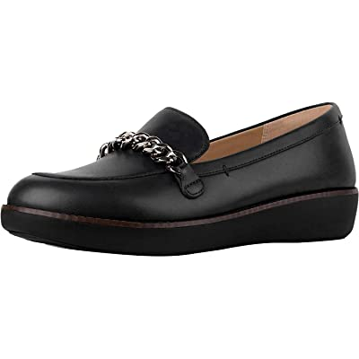 FitFlop Women's Paige Chain Loafer Flat | Loafers & Slip-Ons