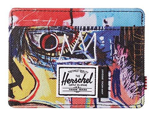 Herschel Supply Co. Unisex Charlie RFID Basquiat Skull One Size