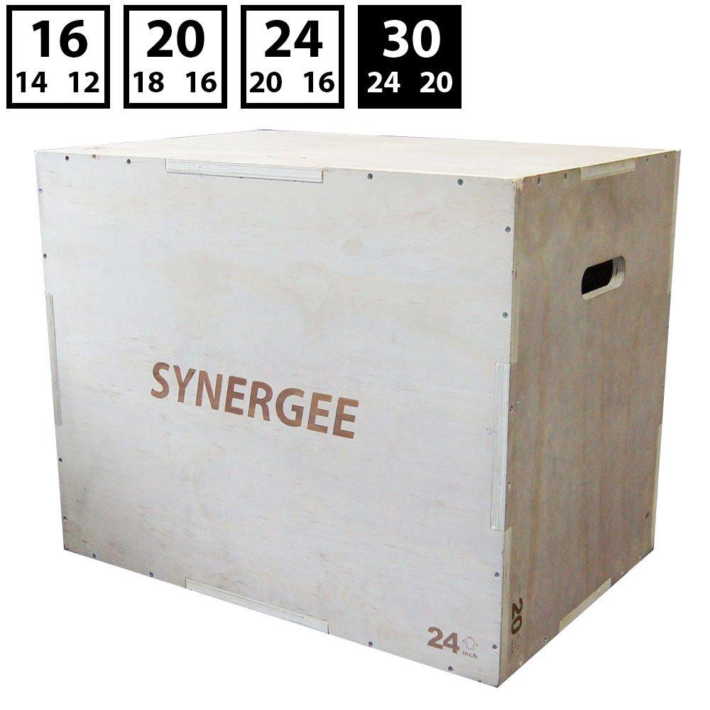 100%本物 シナジー3 in 1木製Plyometricジャンプのトレーニングとコンディショニングのボックス。木製Plyoボックスすべて1つのジャンプトレーナー in。サイズ30 30/24/20/ 24 B071CFRMWB/ 20 , 24/ 20/ 16、20/ 18/ 16、16/ 14/ 12 B071CFRMWB 30/24/20 30/24/20, 市場町:1dd367a2 --- arianechie.dominiotemporario.com
