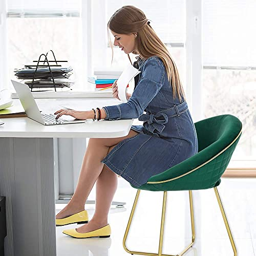 LUE BONA Modern Accent Velvet Chair