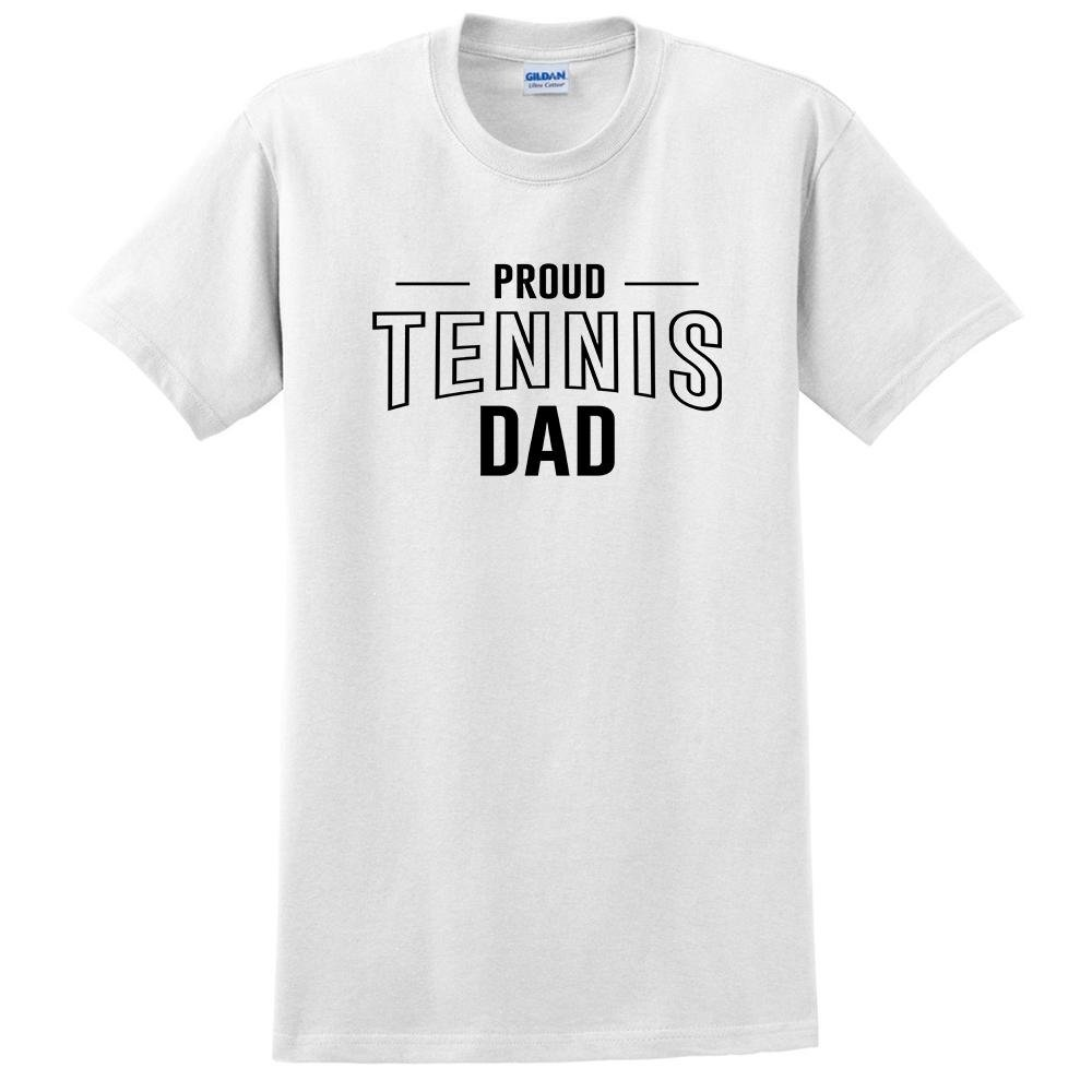 keeponprint Proud Tennis dad Team Squad Sport dad Clothing Workout Athletic t Shirt