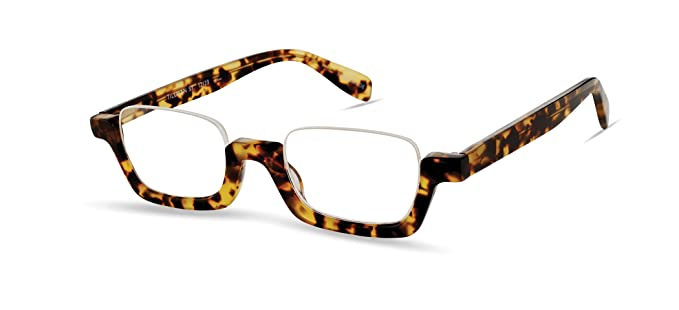 0fab78a93bb Tillman Street - Bottom Frame Trendy Fashion Reading Glasses for Men and  Women - Tortoise (