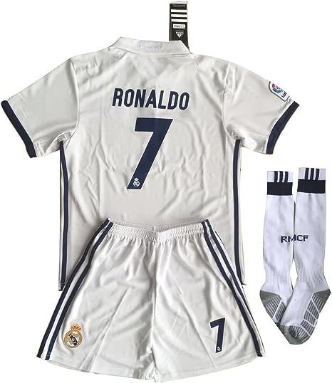 Equipación de fútbol del Real Madrid. Camiseta de Ronaldo # 7 ...