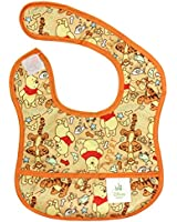 Bumkins Disney Baby Waterproof Starter Bib, Winnie The Pooh Woods
