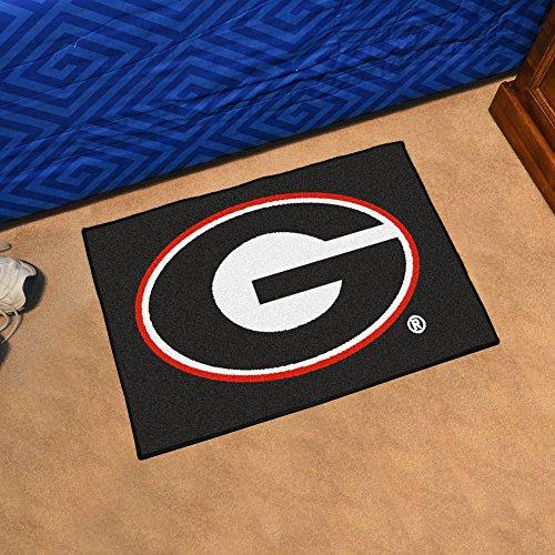 Georgia Bulldogs NCAA 'Starter' Floor Mat (20'x30') G Logo on Black