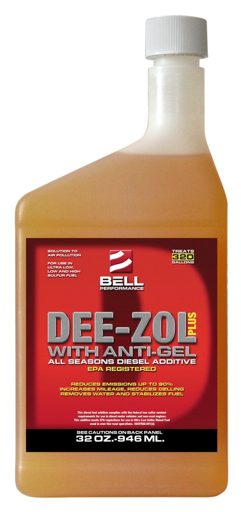 Bell Performance - Dee-Zol Plus Winter Treatment for Diesel Fuel - 5 Gallons