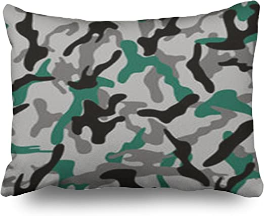 HeroWoW Throw Pillow Covers Teal