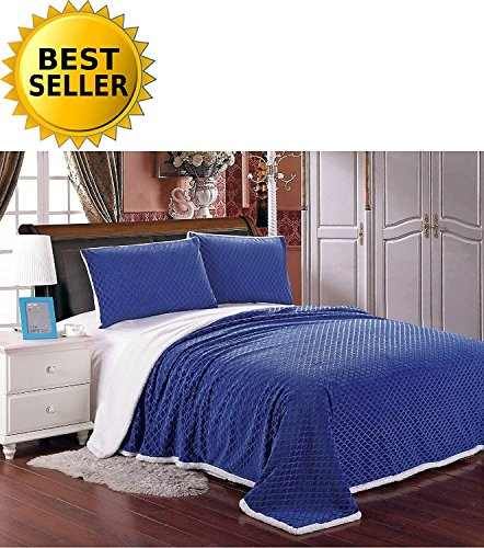 Elegant Comfort Luxury Micro-Sherpa Ultra Plush Warm Heavy-W