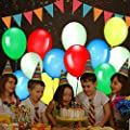 30 Pack LED Light Up Balloons, Premium Mixed-Colors Flashing Party Lights Lasts 12-24 Hours, Ideal for Parties, Birthdays and Wedding Decorations, Fillable with Helium, Air - by GIGALUMI by GIGALUMI