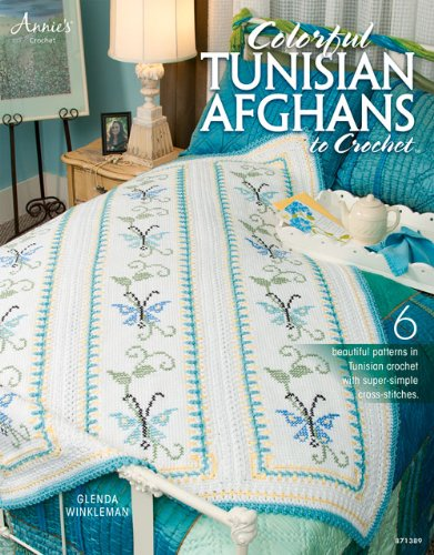Annies Crochet Afghan Pattern - Colorful Tunisian Afghans to Crochet (Annie's Crochet)