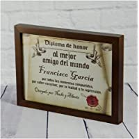 Calledelregalo Diplomas pergamino Personalizados para Todos los destinatarios