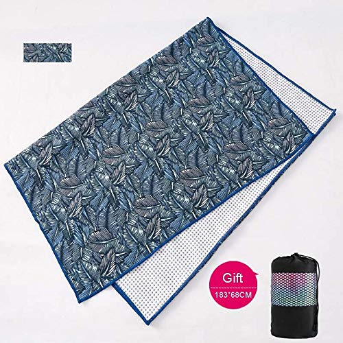 YOOMAT 183x68cm Tie-Dye Impreso Mantas de Yoga Sudor ...