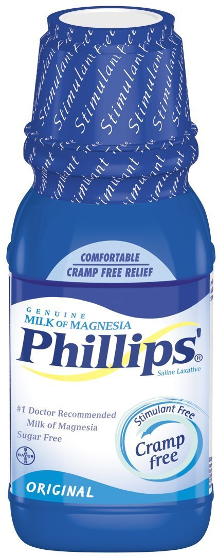Amazon.com: Phillips Milk of Magnesia, Original, 12-Ounce Bottles (Pack of 4): Health & Personal Care