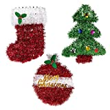 Set of 3 Colorful Christmas Decorations - Tree - Best Reviews Guide