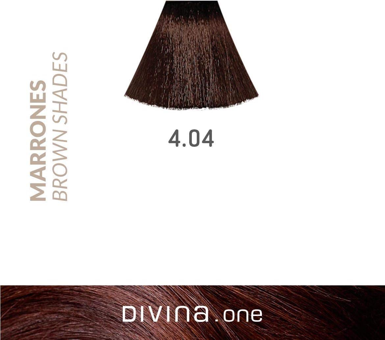 Eva Professional Hair Care Tinte Profesional Divina N.4.04 60 ...