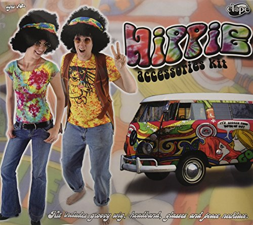 Hippie Kit Costume Accessory (Tie Dye Hippie Costume Ideas)