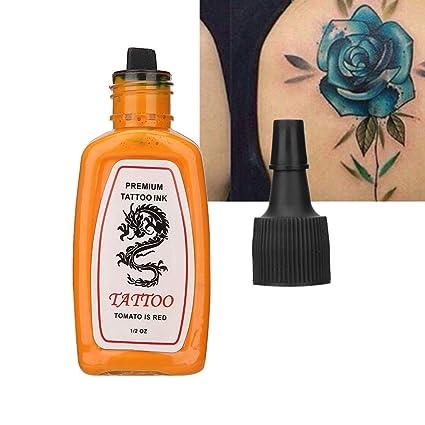 Tinta para tatuaje corporal, Tinta para tatuaje semipermanente ...