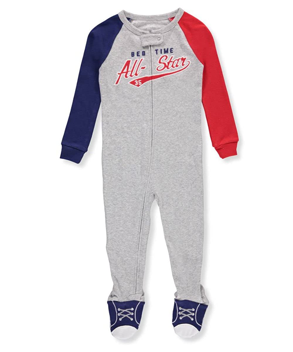 Carters Baby Boys 1 Piece Cotton Footed Sleepers