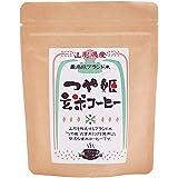 玄米コーヒー 国産 つや姫 100g ドリップ 粉末 パウダー ノンカフェイン ブラックジンガー 玄米珈琲