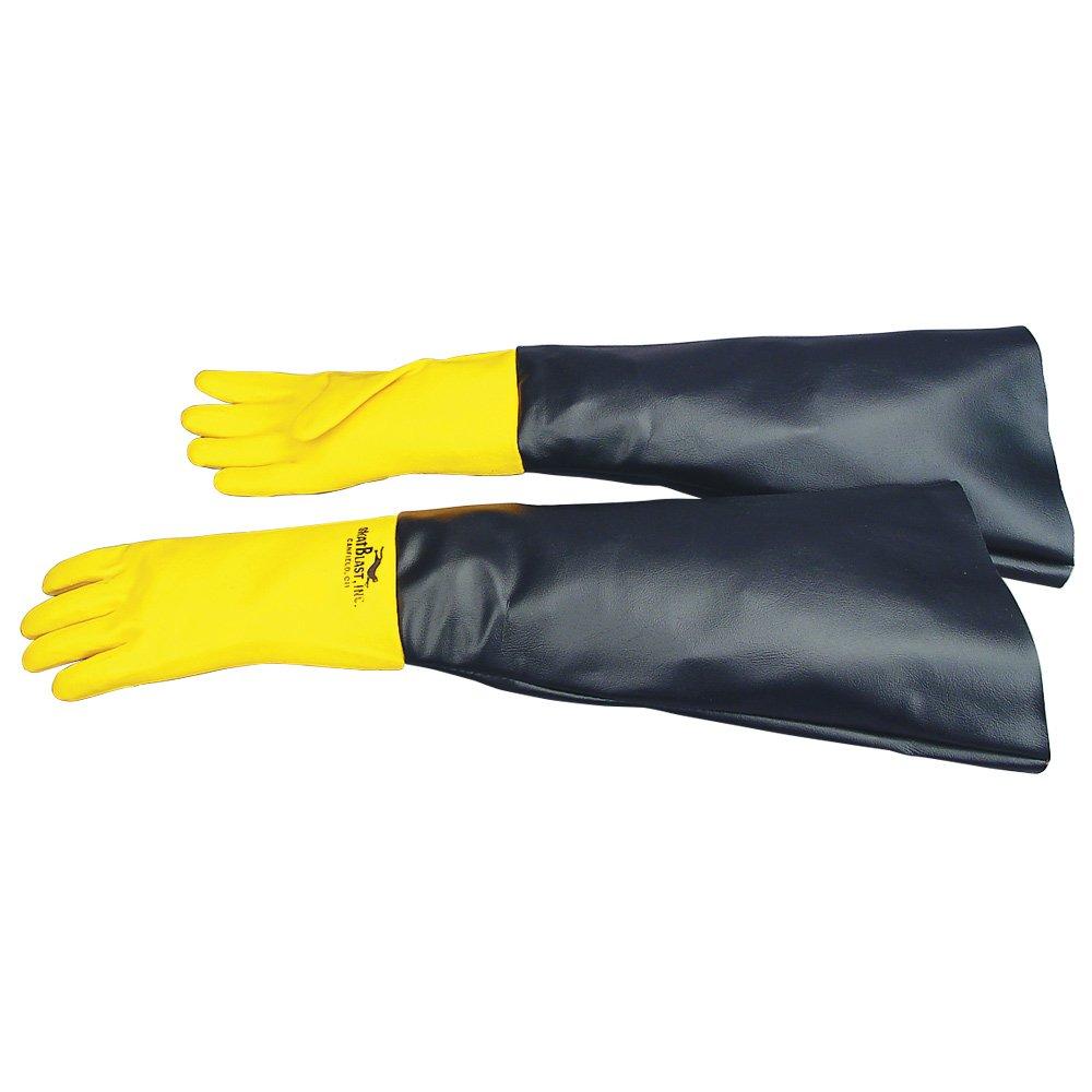 Skat Blast Sandblast Cabinet Gloves for Skat Blast Sandblasting Cabinets, 27''-28''L - 1 pair, 6051-00 by Skat Blast