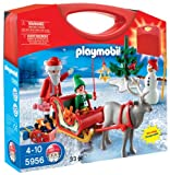 PLAYMOBIL Santa with Sleigh and Reindeer Playset