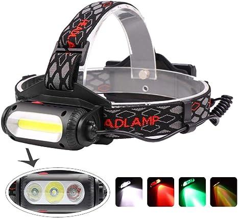Siuyiu 6000LM XM-L XML 3T6 Ricaricabile proiettori a LED Lampada Frontale Torcia per Gli Sport Esterni