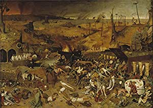 Oil painting 'Brueghel the Elder Pieter The Triumph of Death Ca. 1562 ' printing on high quality polyster Canvas , 16 x 23 inch / 41 x 57 cm ,the best Basement decor and Home gallery art and Gifts is this High Definition Art Decorative Canvas Prints