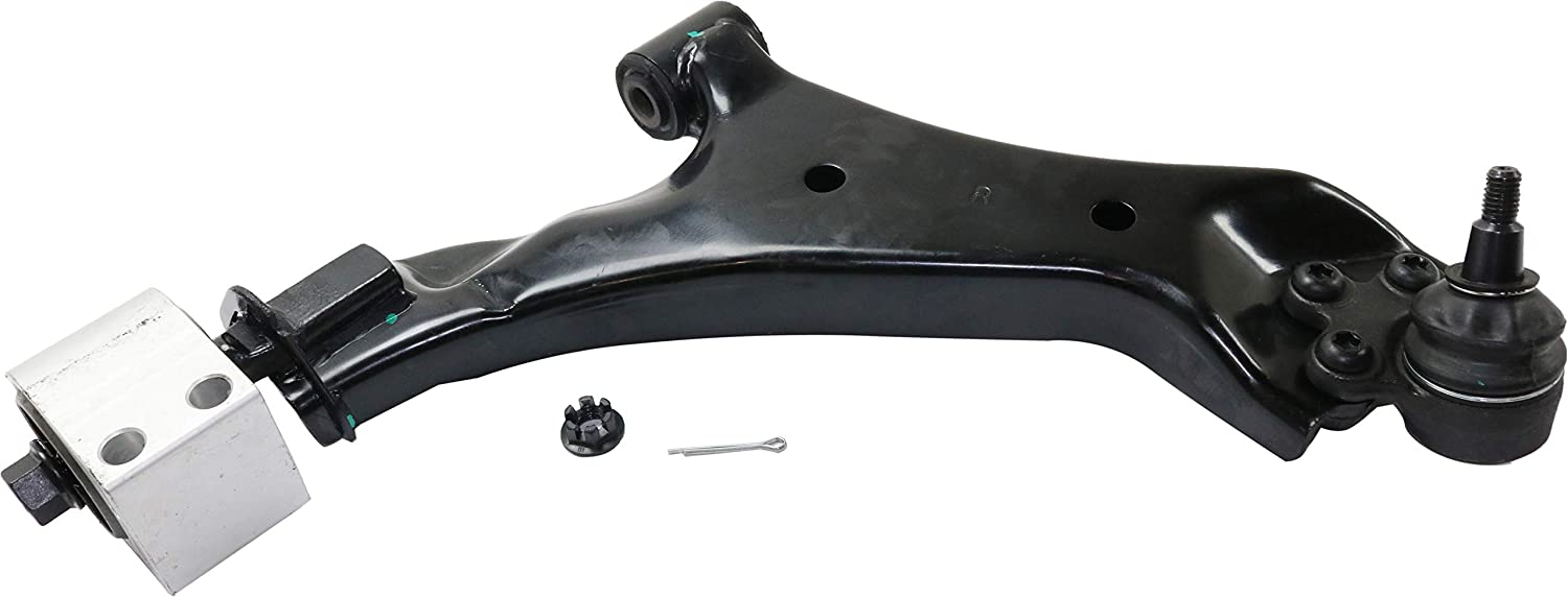Control Arm Compatible with 2010-2017 Chevrolet Equinox//GMC Terrain Front Lower with Ball Joint and Bushing Passenger Side