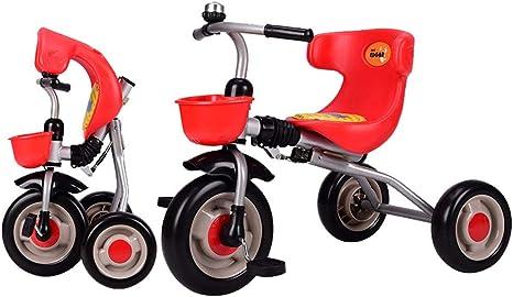 Axdwfd Infantiles Bicicletas Triciclo para niños con Bicicleta ...