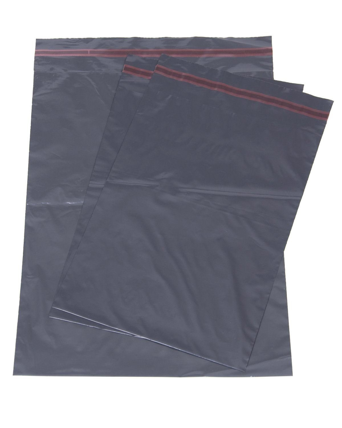 500x Grey Mailing Courier Postal Bags - 10'' x 14''