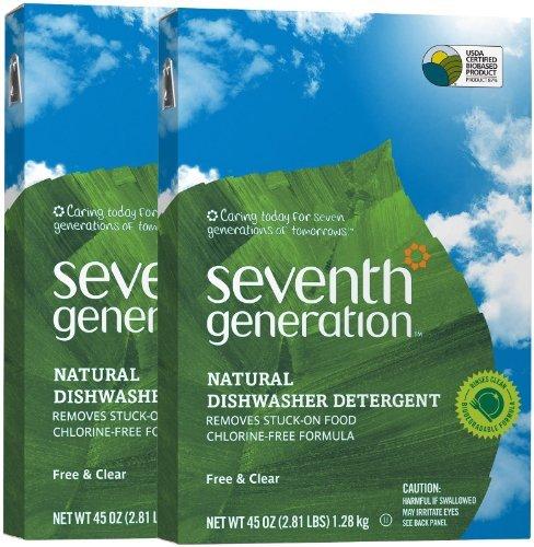 - Seventh Generation Auto Dish Powder - 45 oz - 2 pk