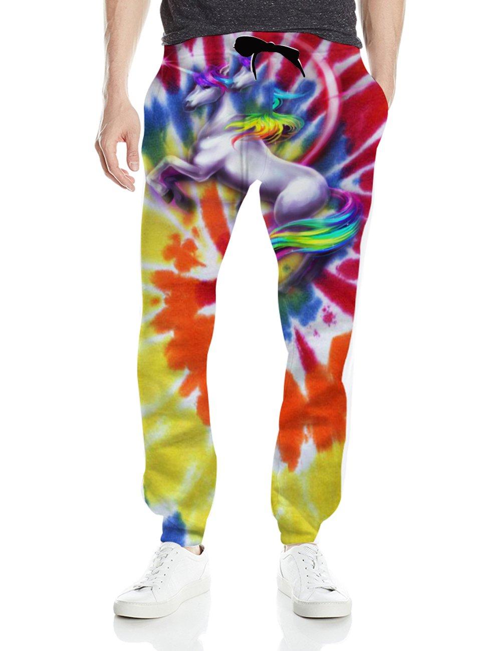 BFUSTYLE Unisex 3D Digital Print Graphic Gym Sport Jogging Pants Casual Sweatpants